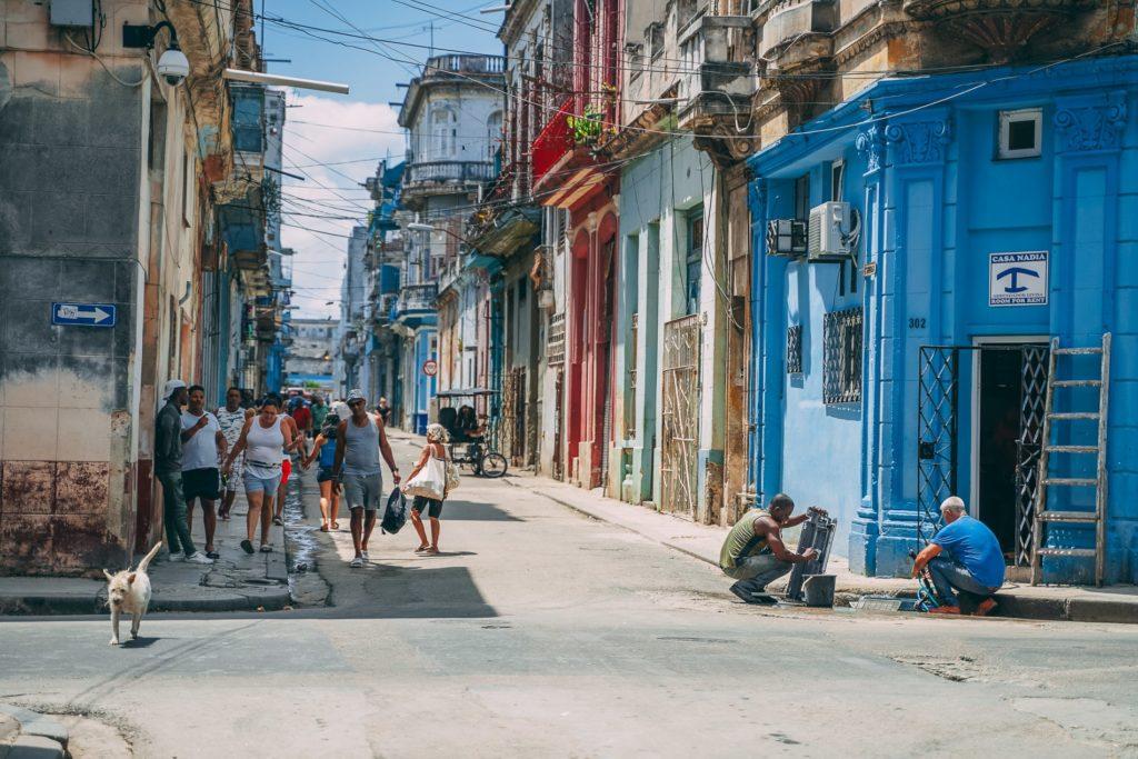 Küba sokakları