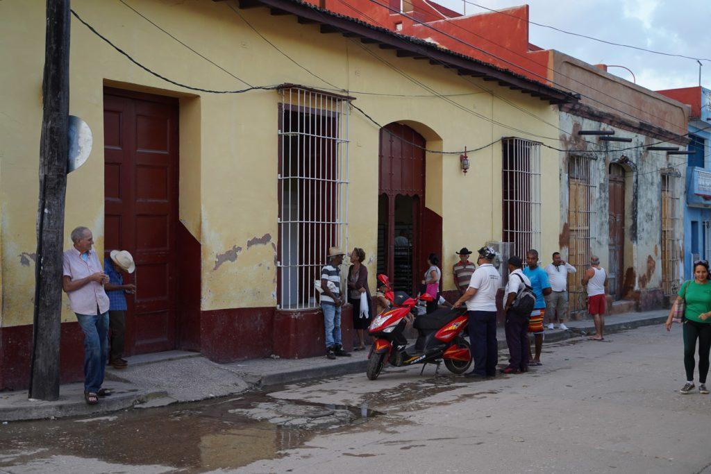 Küba'da kuyruklar