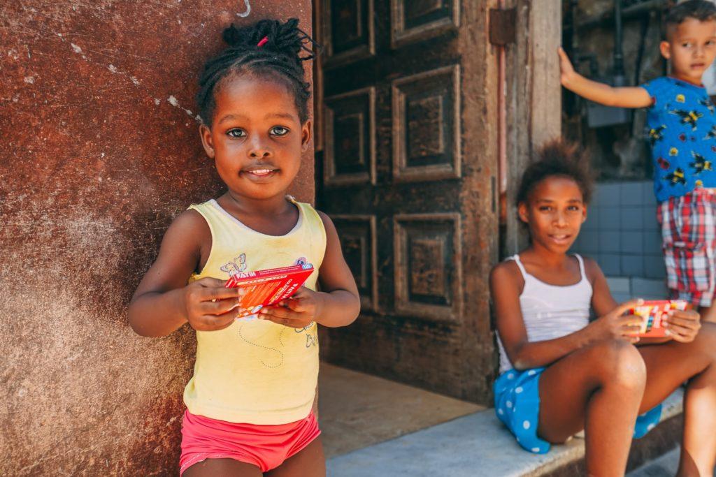 Küba'da çocuklar